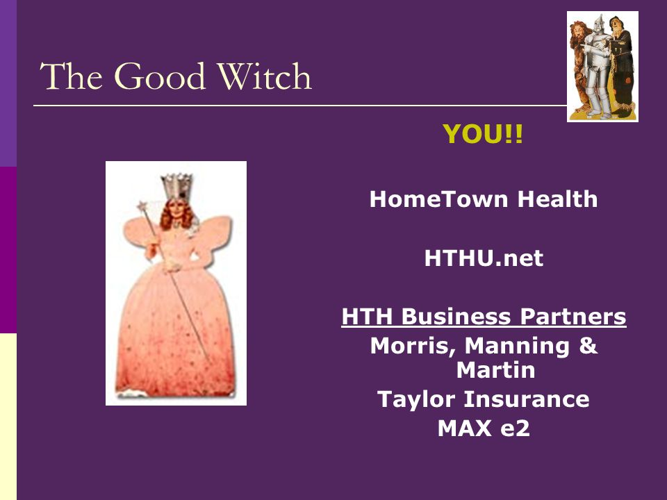 The Good Witch YOU!.