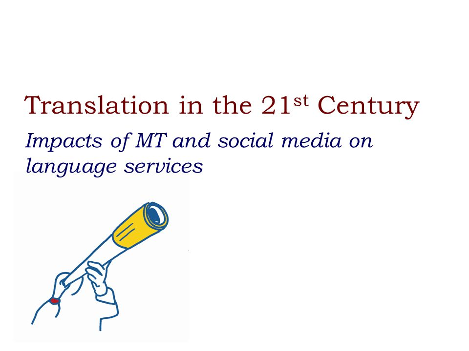 The Power of Data for Translation 1.Terminology mining and dictionary building 2.