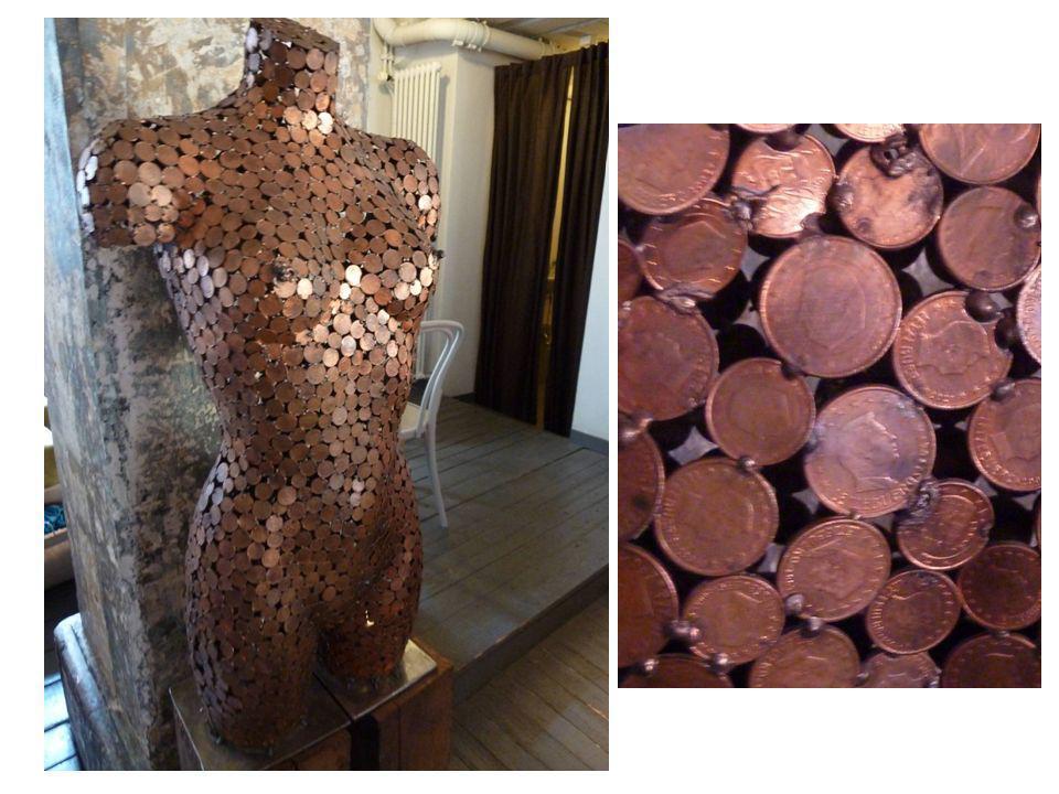 Left: Untitled (I Shop Therefore I Am), Barbara Kruger, 1987.