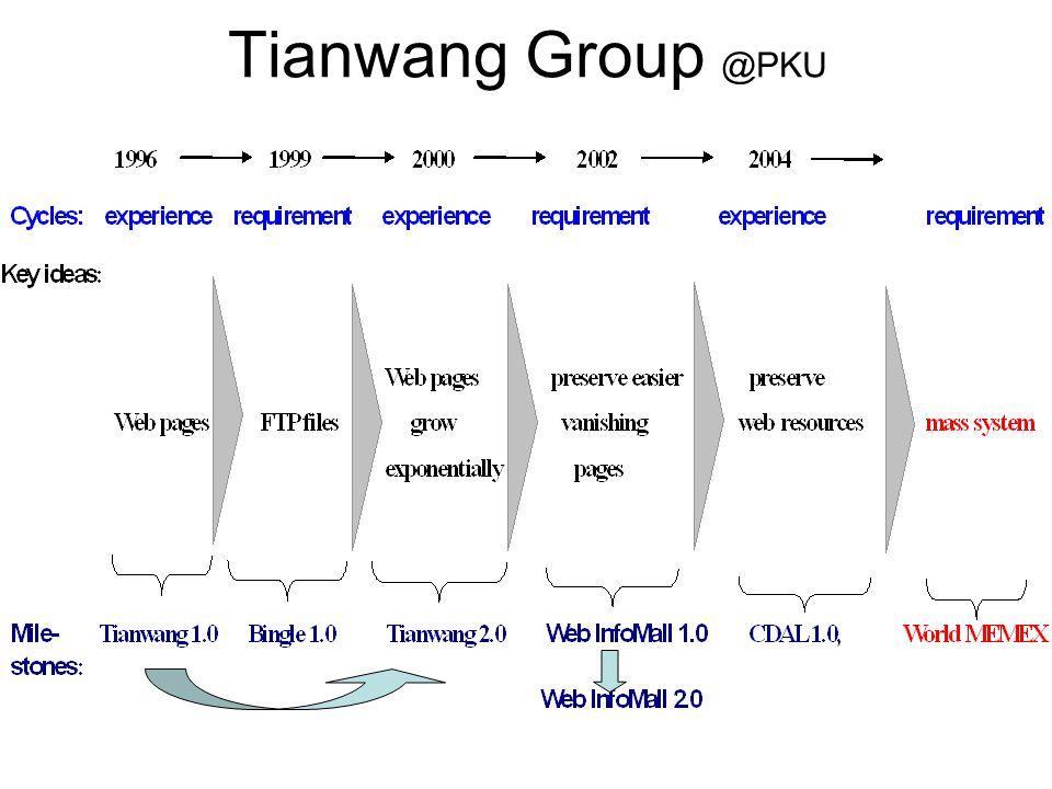 Tianwang Group @PKU