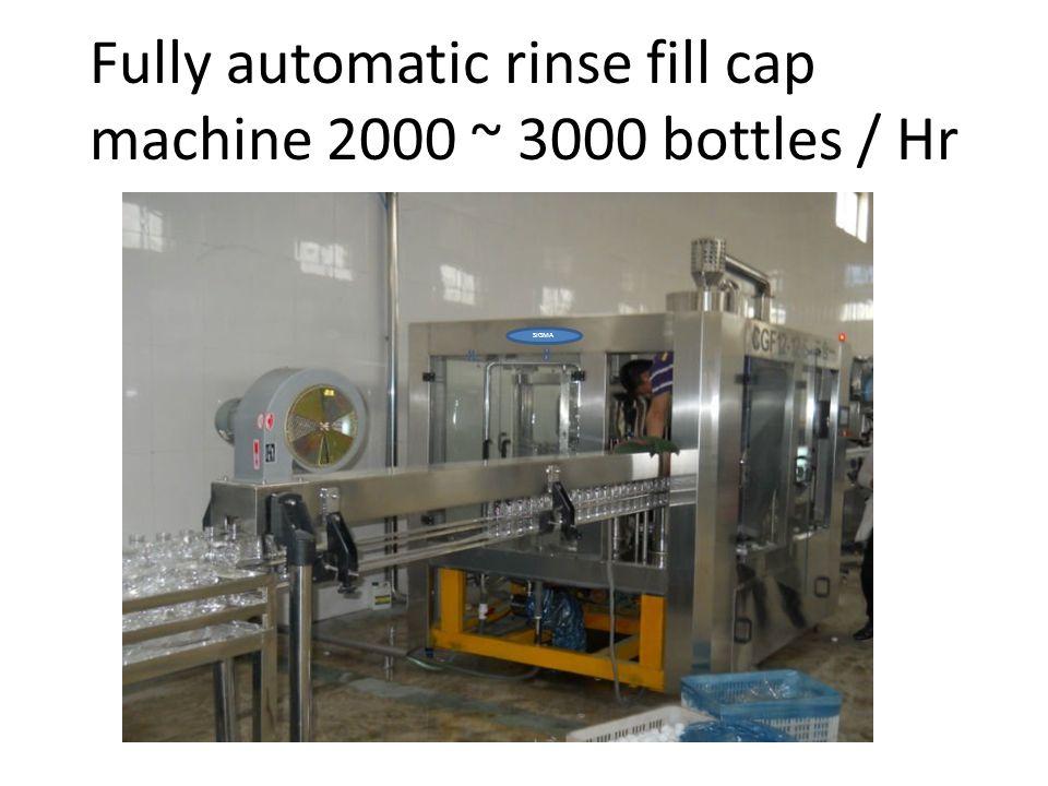 20 litre automatic bottling mc