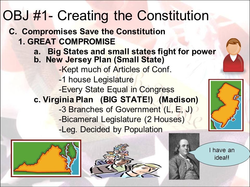 A.Federalism 1. Sharing of power between state & Federal Govt 2.