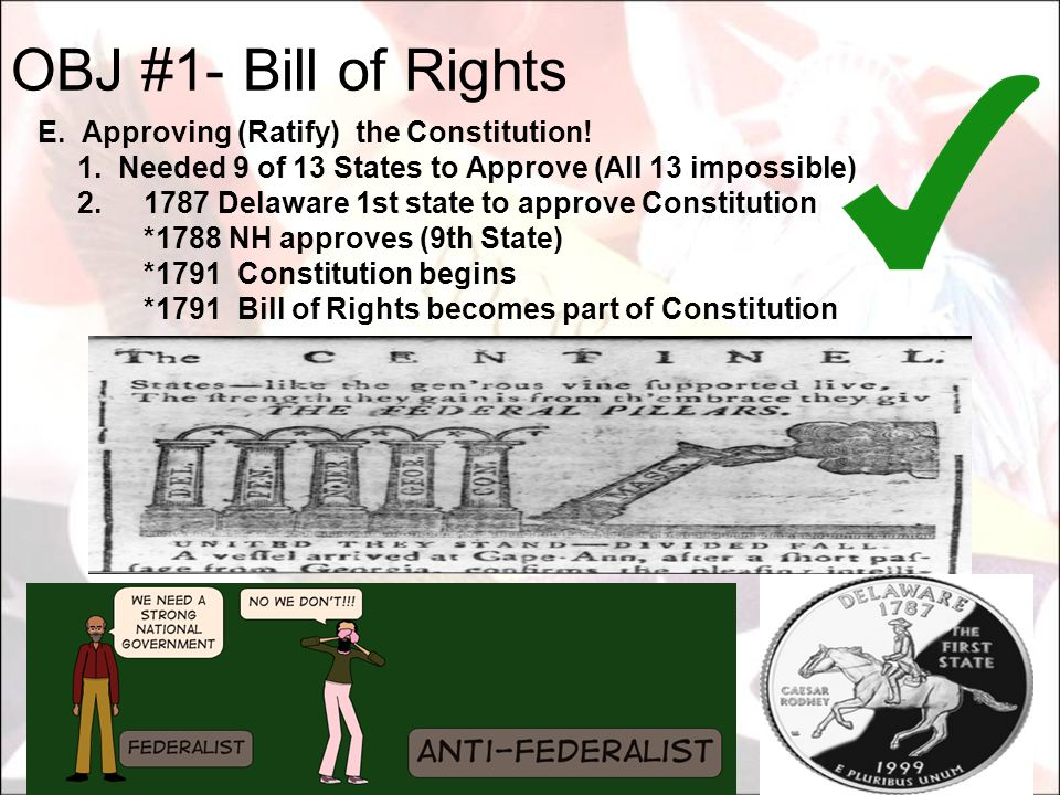 What are the 6 goals of the Constitution? 1. 2. 3. 4. 5. 6.