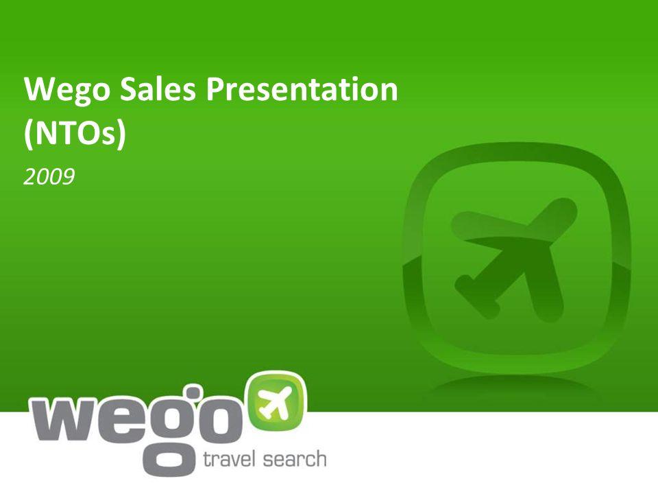 Wego Sales Presentation (NTOs) 2009
