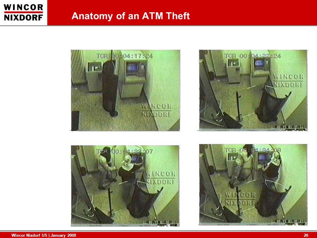20 Wincor Nixdorf US | January 2008 Anatomy of an ATM Theft