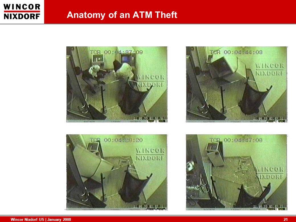 21 Wincor Nixdorf US | January 2008 Anatomy of an ATM Theft