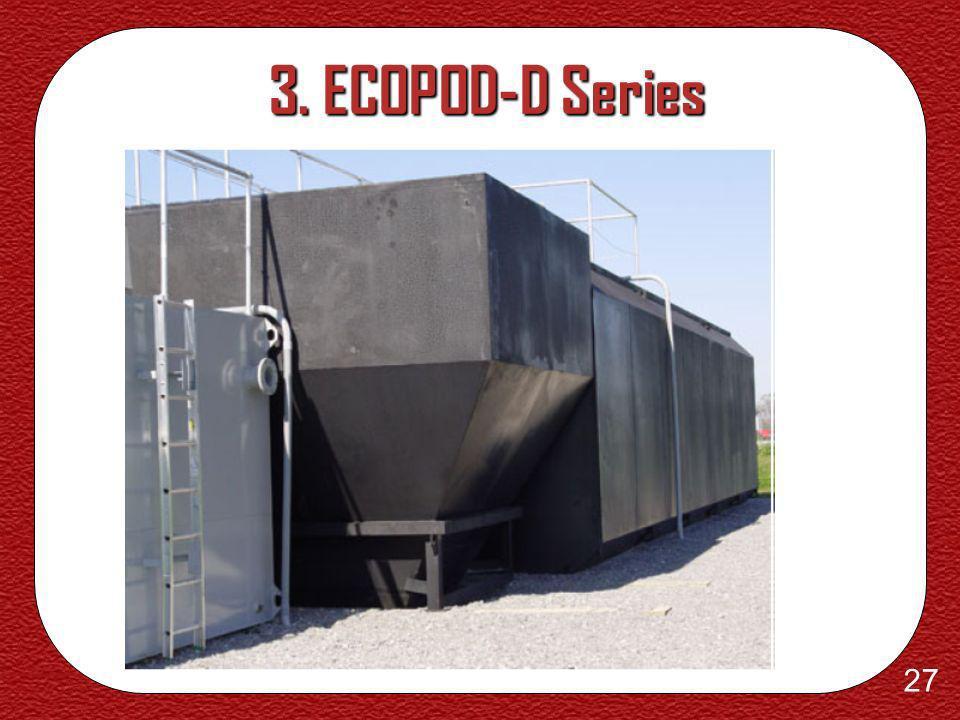26 3. ECOPOD-D Series