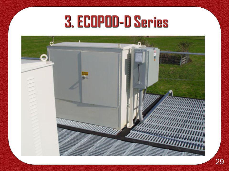 28 3. ECOPOD-D Series