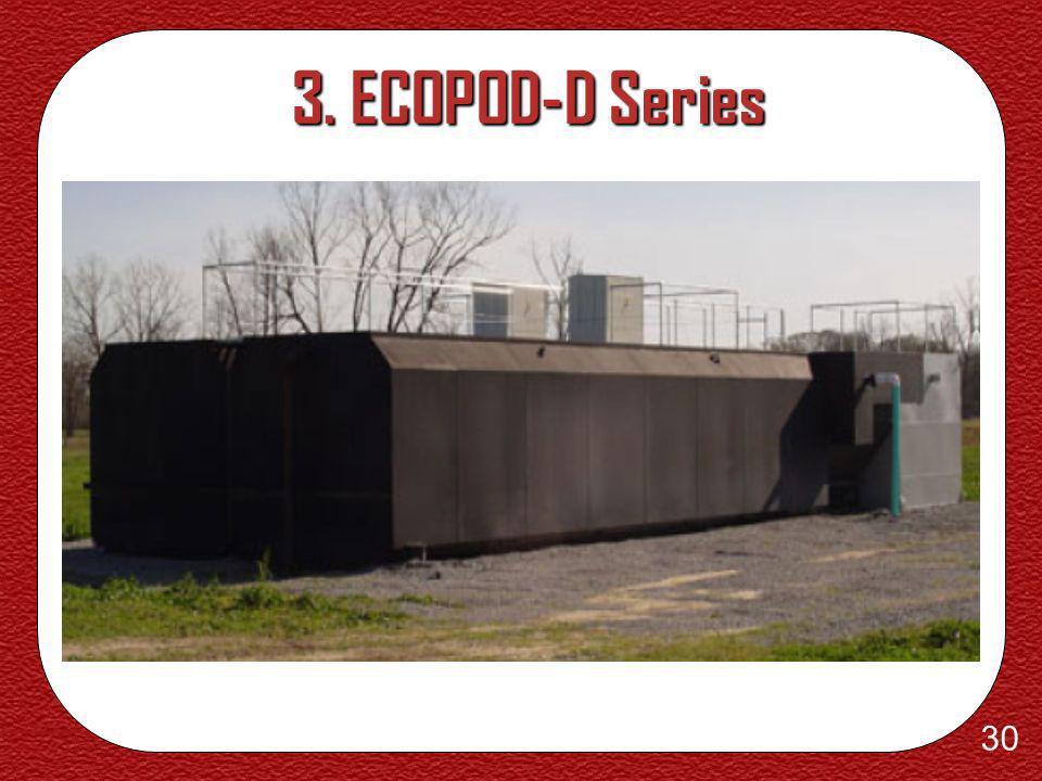 29 3. ECOPOD-D Series