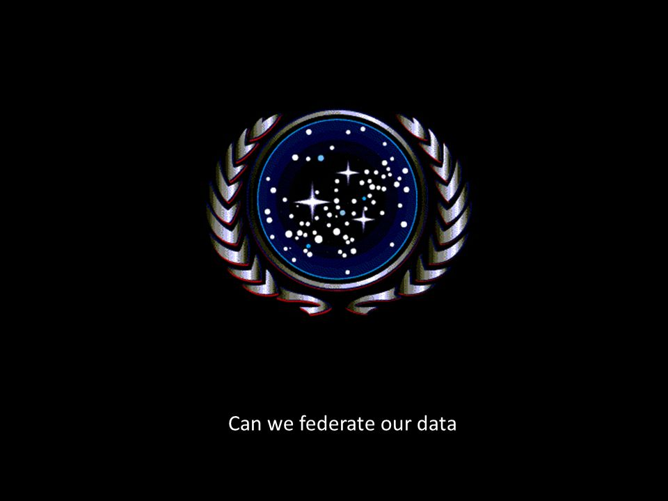 Can we federate our data