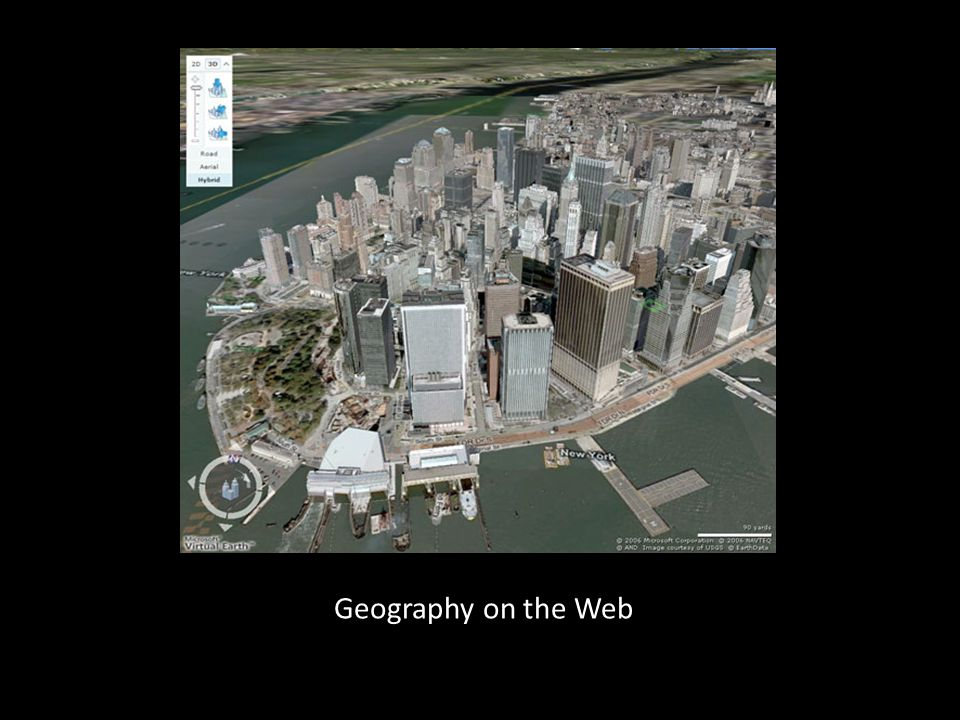 Geography on the Web