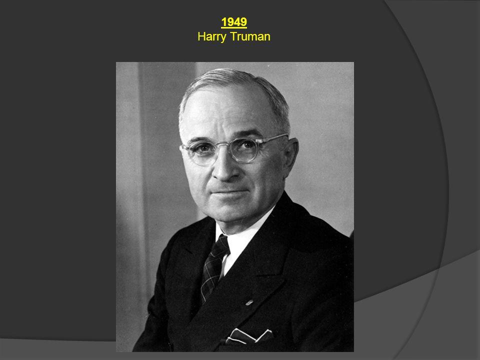 1949 Harry Truman