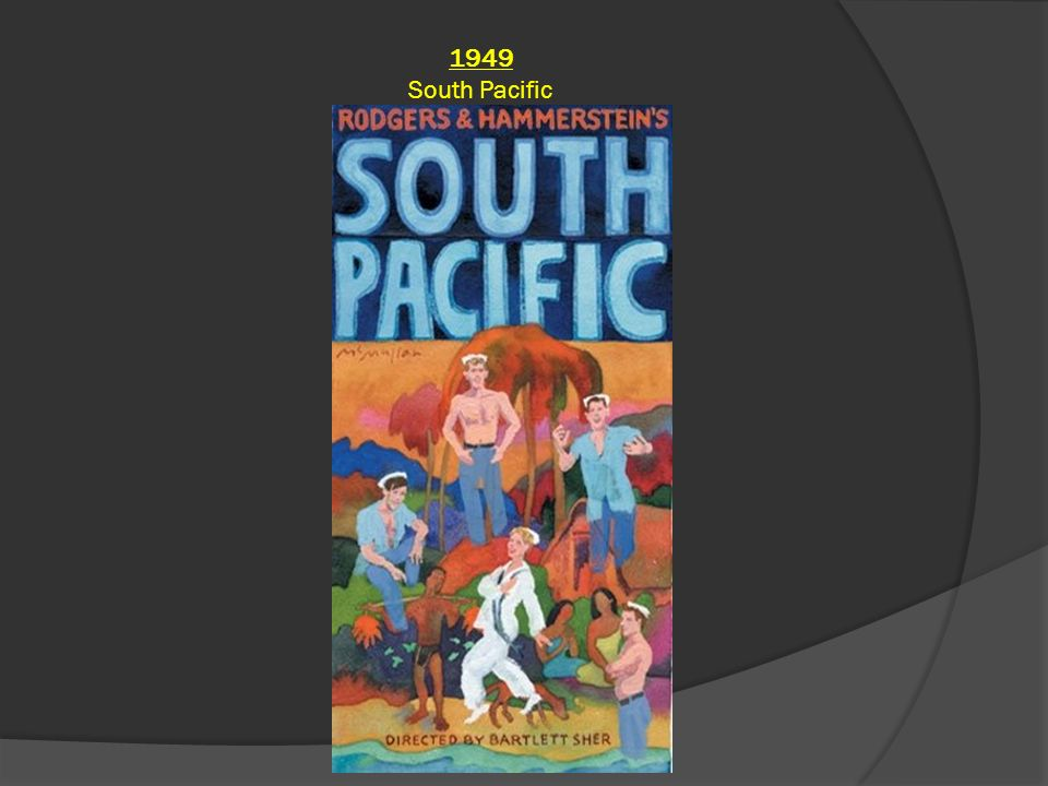 1949 South Pacific