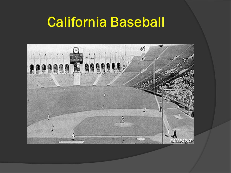 California Baseball