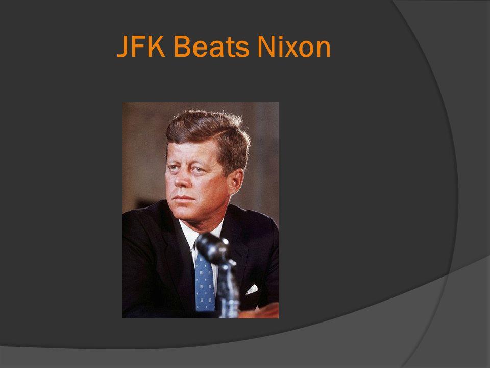 JFK Beats Nixon