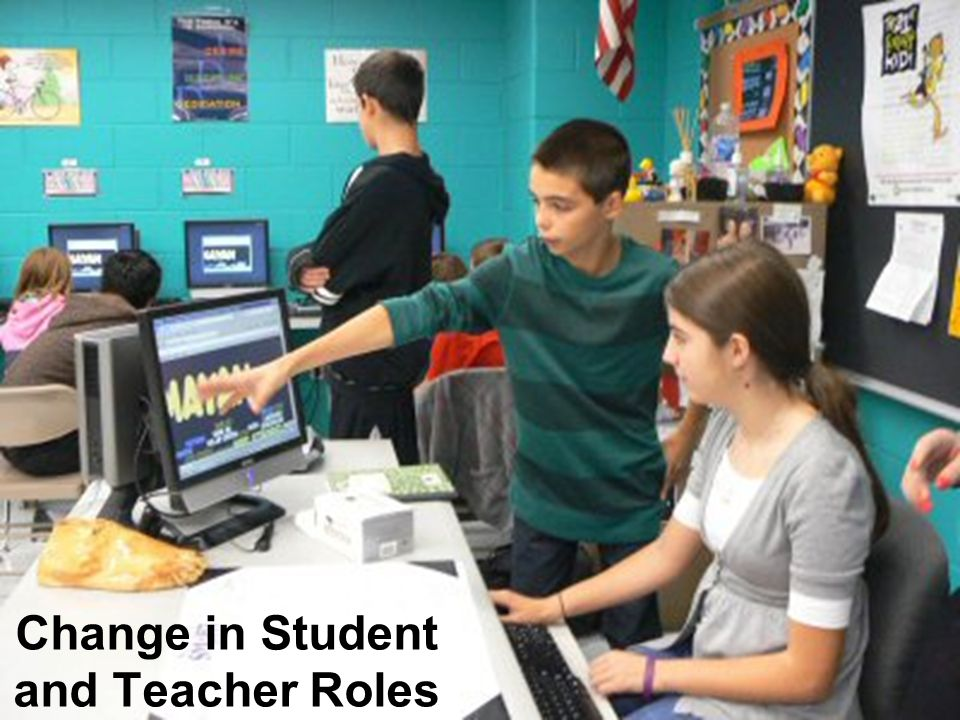 Change in Student and Teacher Roles