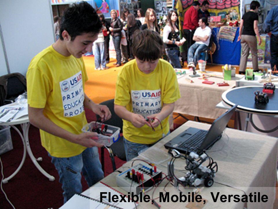 Flexible, Mobile, Versatile
