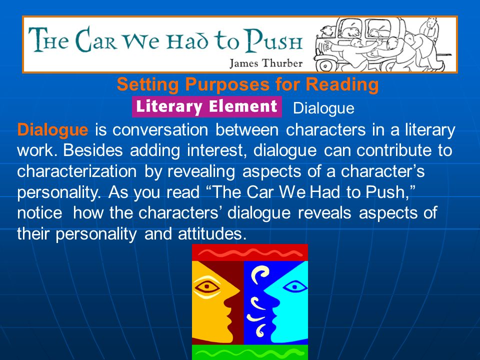 Setting Purposes for Reading As you read this selection, think about why some of the characters choose to try to trick another character rather than d