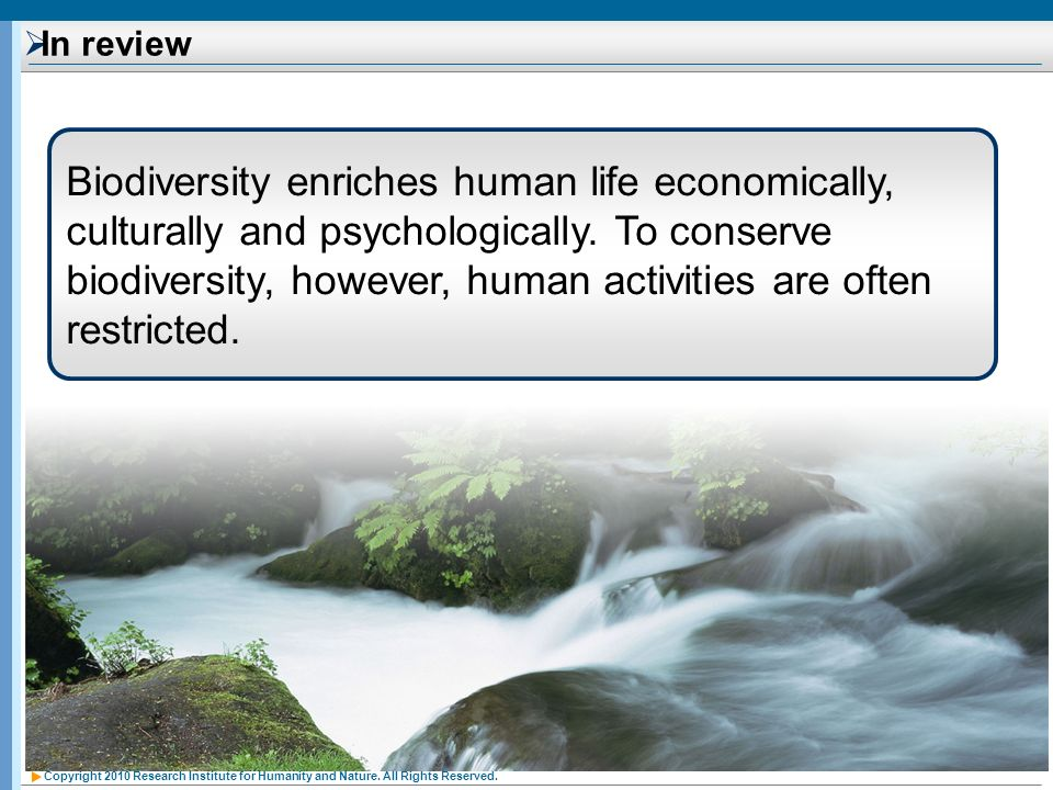 Copyright 2010 Research Institute for Humanity and Nature.