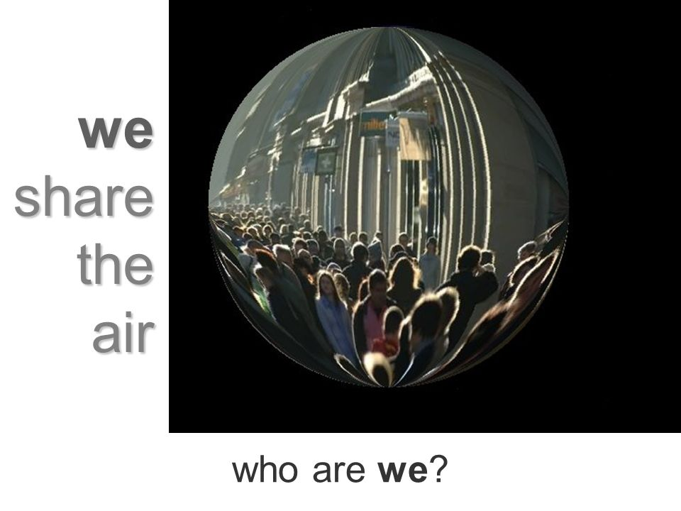 who are we we share the air
