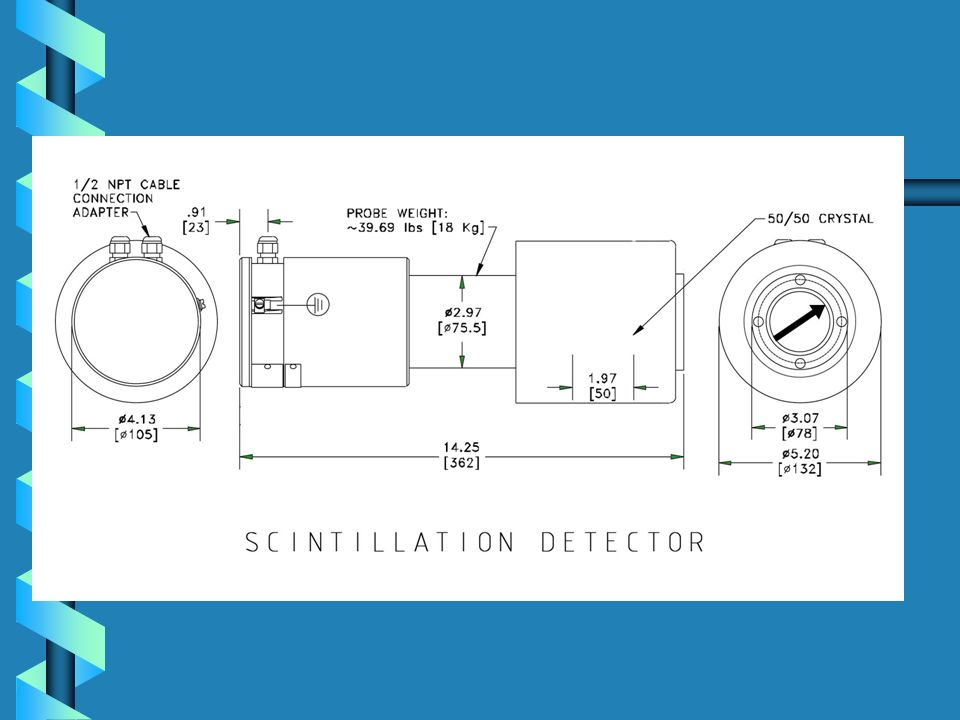 Typical Radiation Detector Mounting