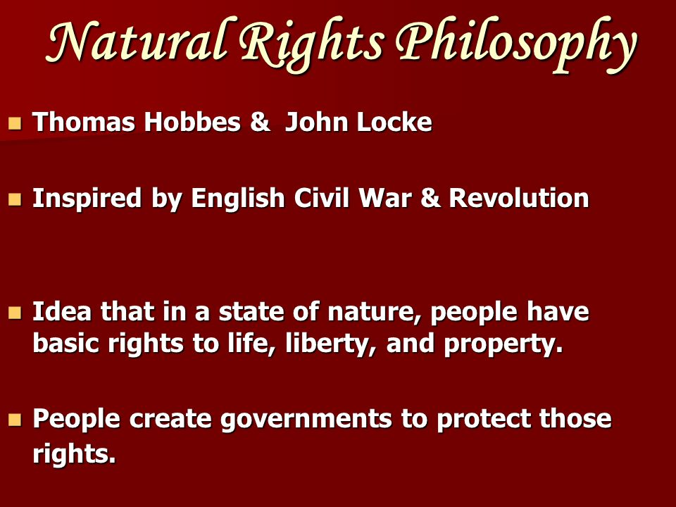 Thomas Hobbes Humans are naturally violent.Humans are naturally violent.