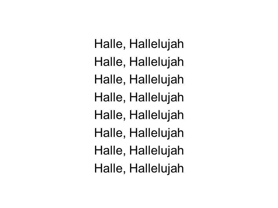 Halle, Hallelujah