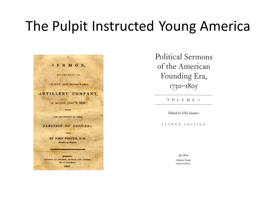 The Pulpit Instructed Young America