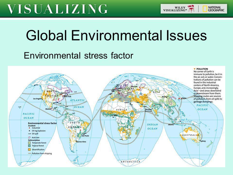Global Environmental Issues Environmental stress factor