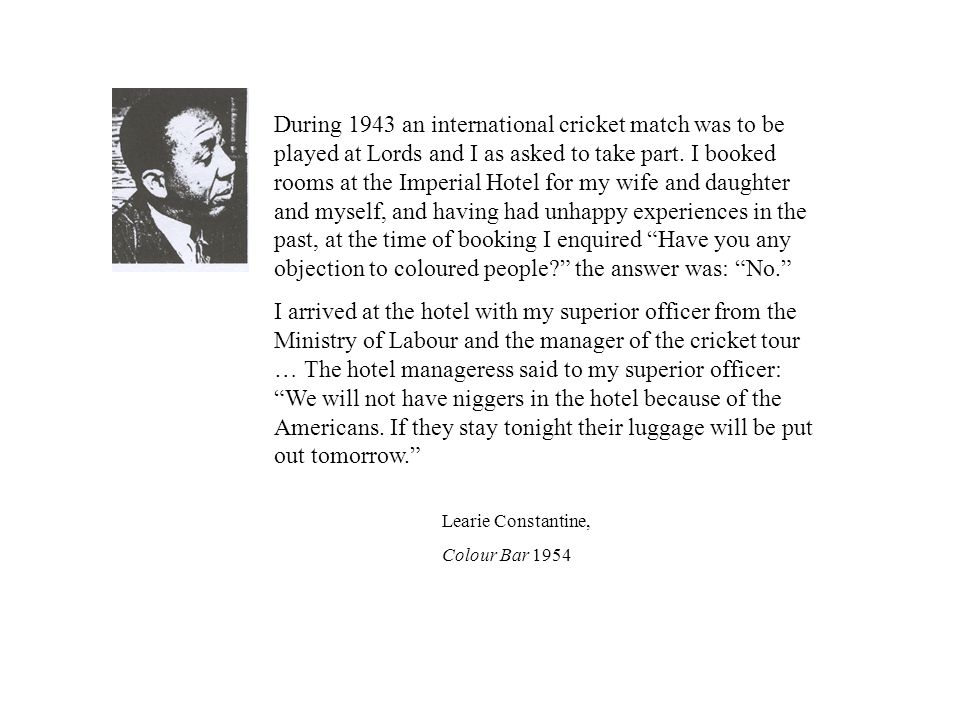 During 1943 an international cricket match was to be played at Lords and I as asked to take part.