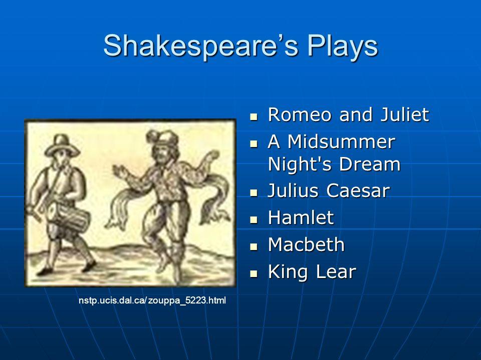 Shakespeares Early Life Baptized April 26, 1564 Baptized April 26, 1564 Probably born April 23 Probably born April 23 Stratford-on-Avon, England Strat