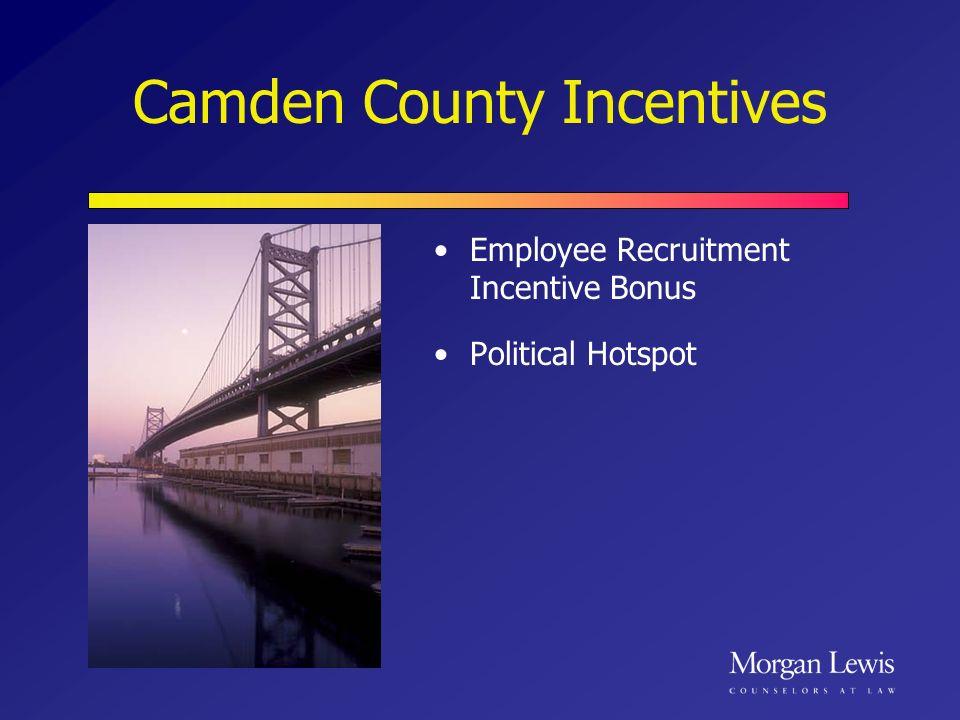 Camden County Incentives Employee Recruitment Incentive Bonus Political Hotspot