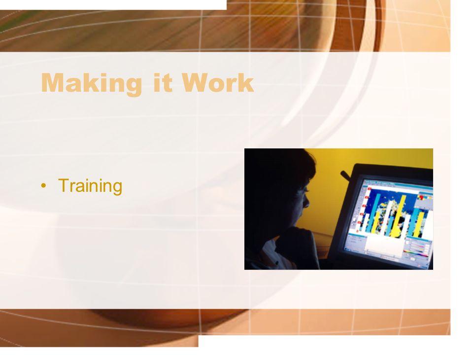 Making it Work Training
