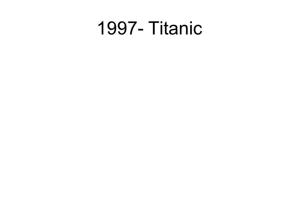 1997- Titanic