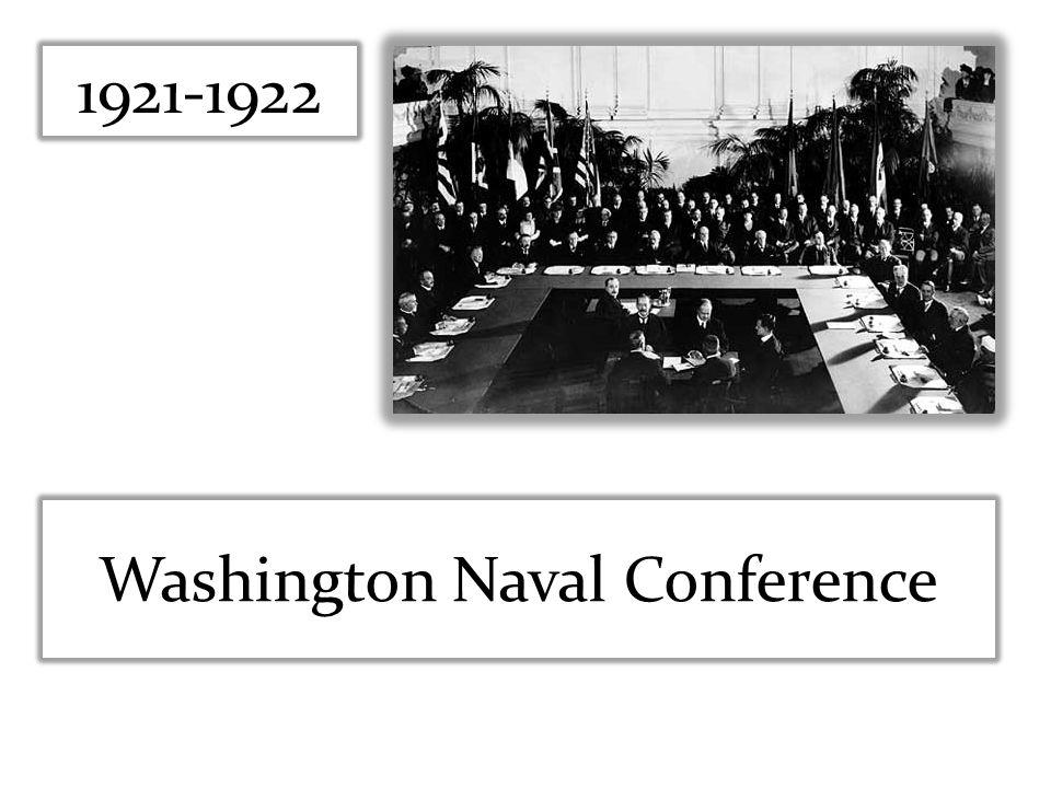 1921-1922 Washington Naval Conference