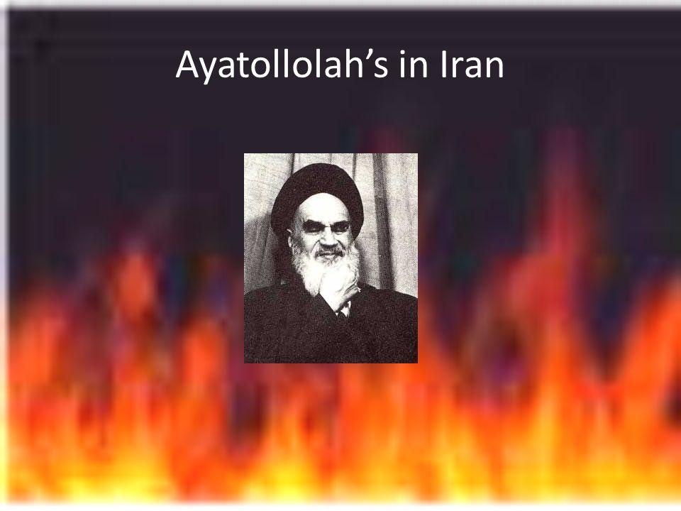 Ayatollolahs in Iran