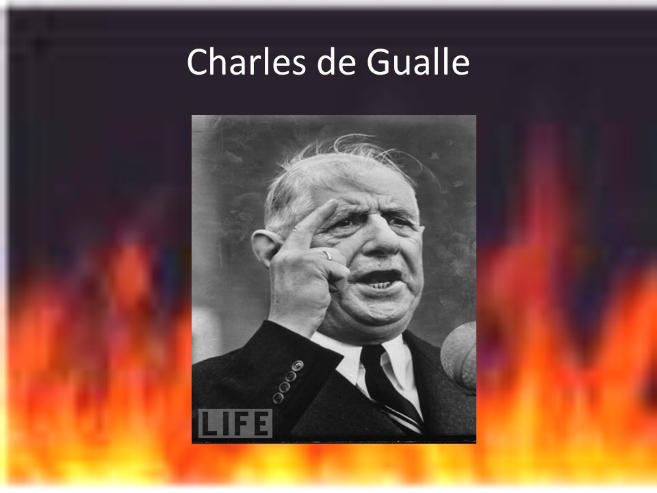 Charles de Gualle
