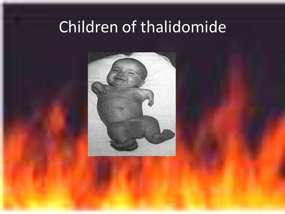 Children of thalidomide