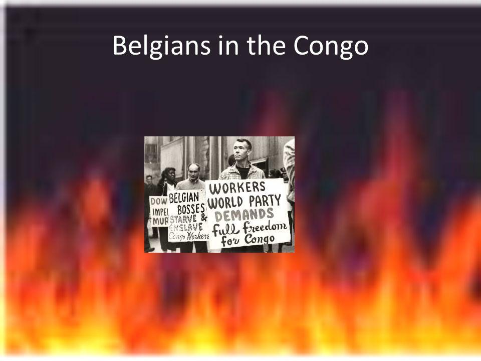 Belgians in the Congo