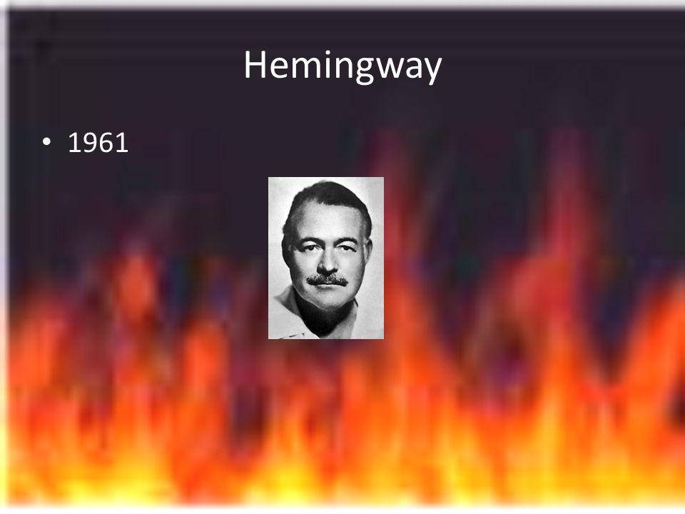 Hemingway 1961