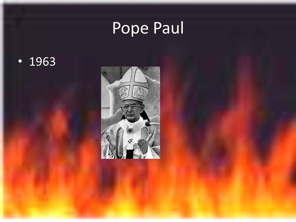 Pope Paul 1963