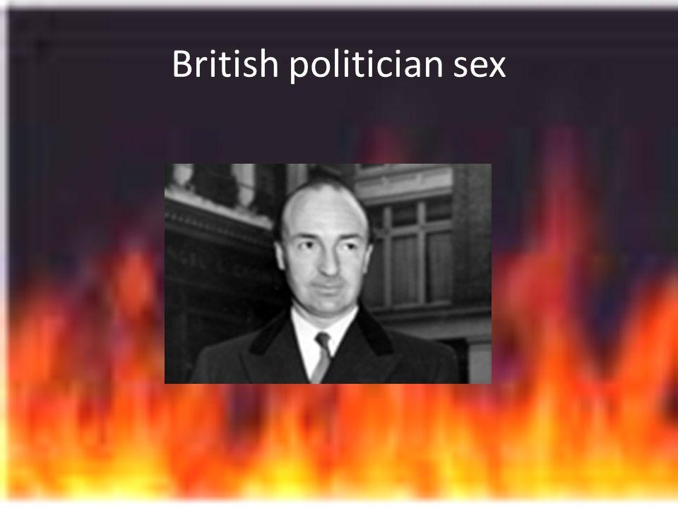 British politician sex