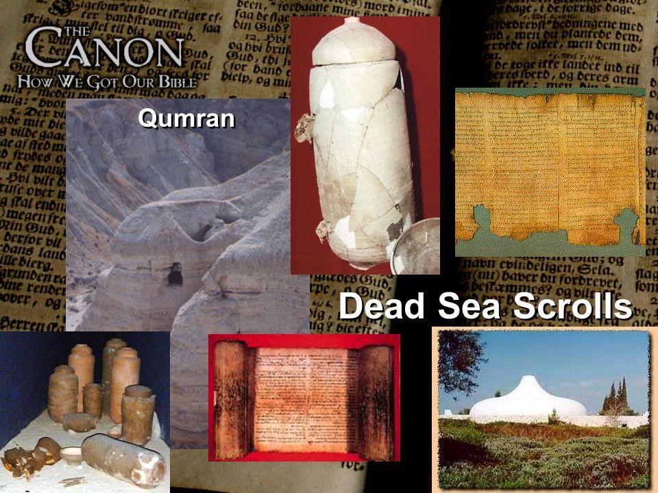 Qumran Dead Sea Scrolls