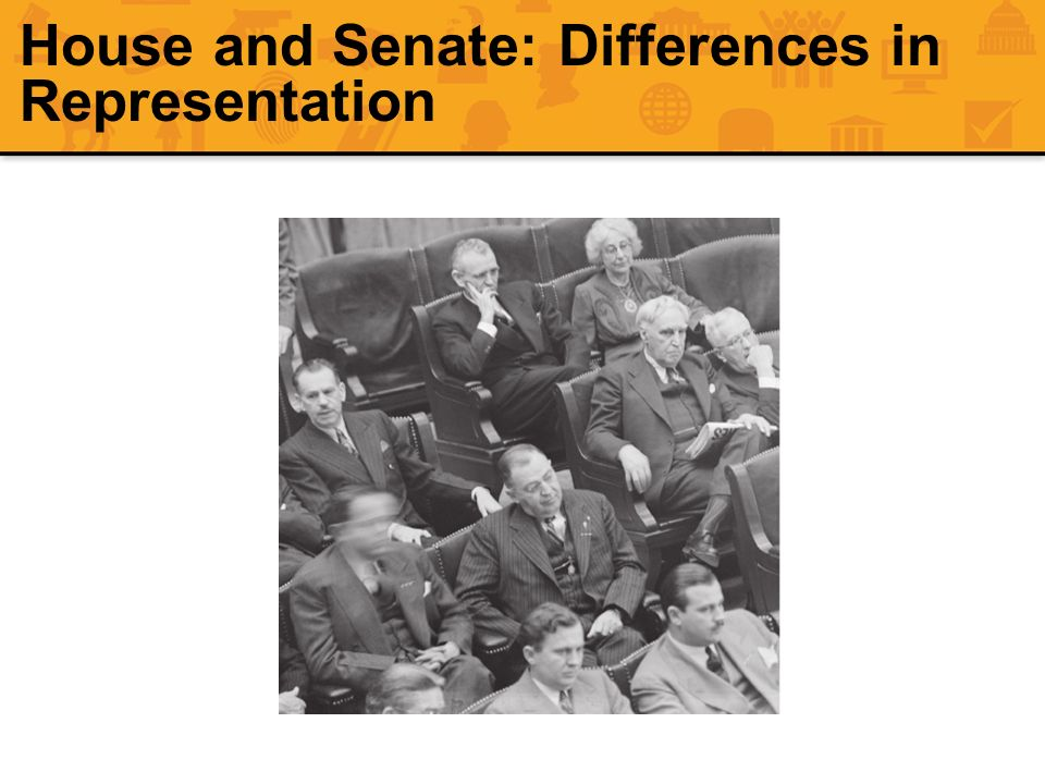 House and Senate: Differences in Representation