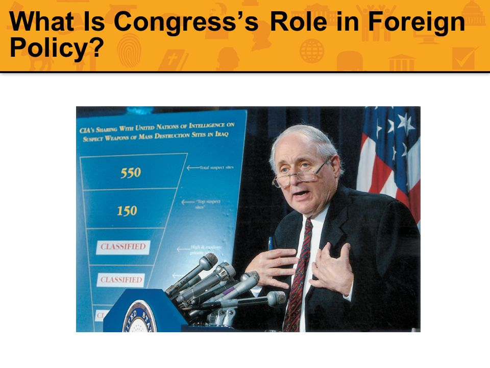What Is Congresss Role in Foreign Policy?