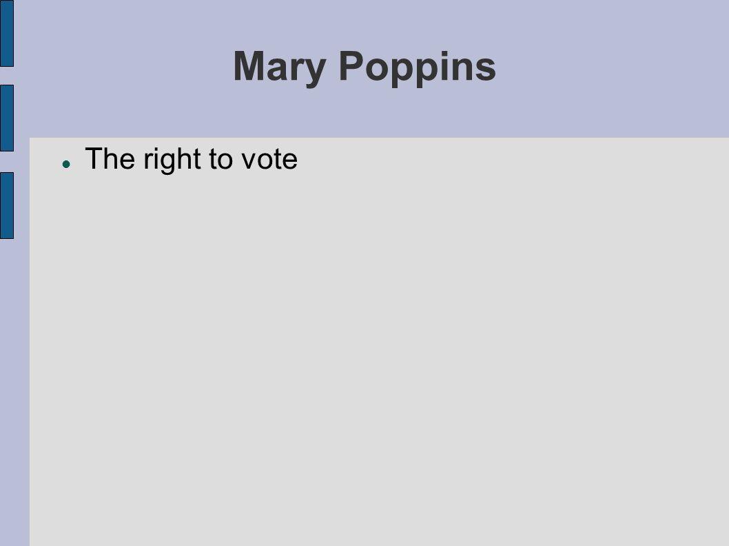 Mary Poppins Mr.