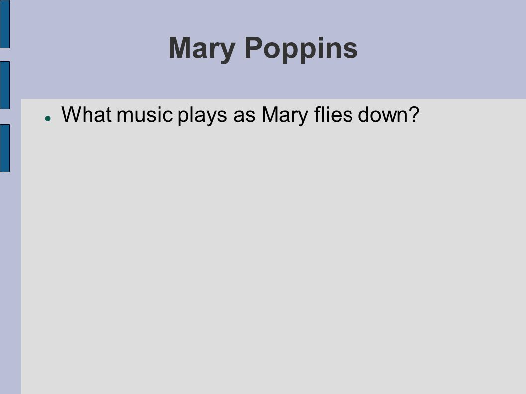 Mary Poppins Spoonful of Sugar