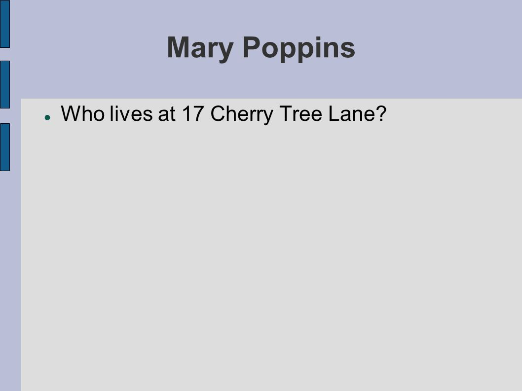 Mary Poppins The Banks