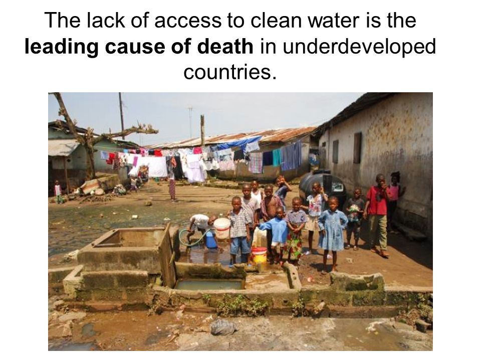 6,000 people will die today from water related diseases. Getty Images