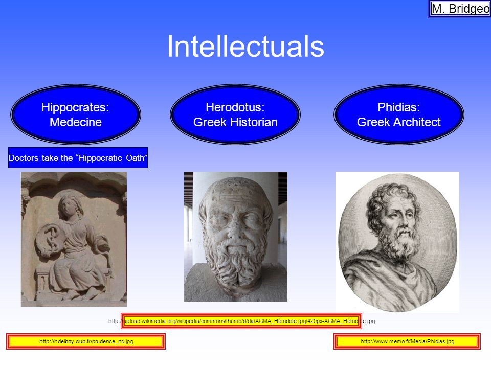 Intellectuals M. Bridgeo http://upload.wikimedia.org/wikipedia/commons/thumb/d/da/AGMA_Hérodote.jpg/420px-AGMA_Hérodote.jpg http://hdelboy.club.fr/pru